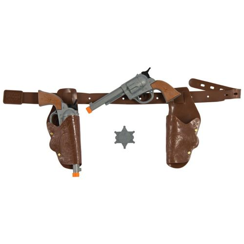 Kids Western Gunman Costume Gun & Holster Set