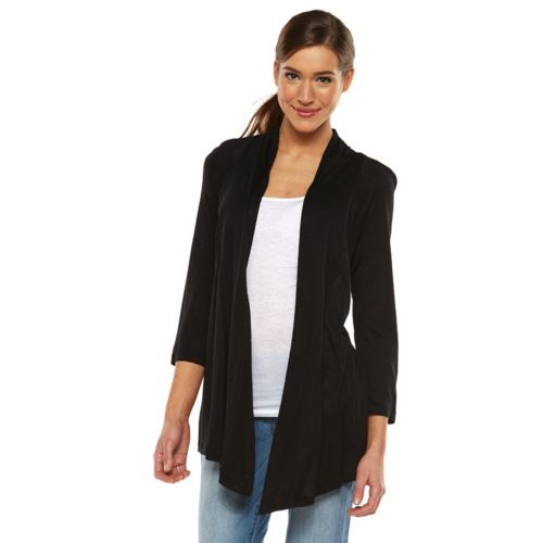 AB Studio Open-Front Cardigan - Women's
