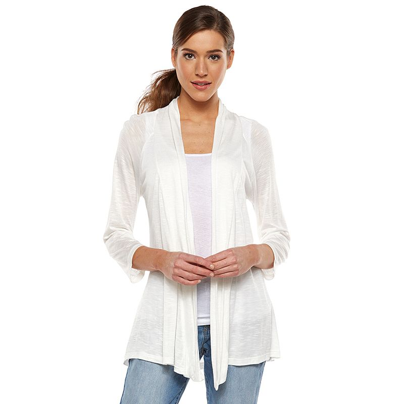 Women's AB Studio Open-Front Cardigan