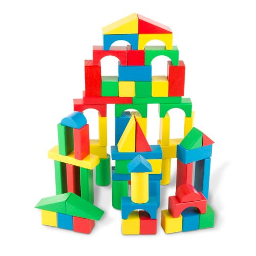 Melissa and Doug Wood Block Set