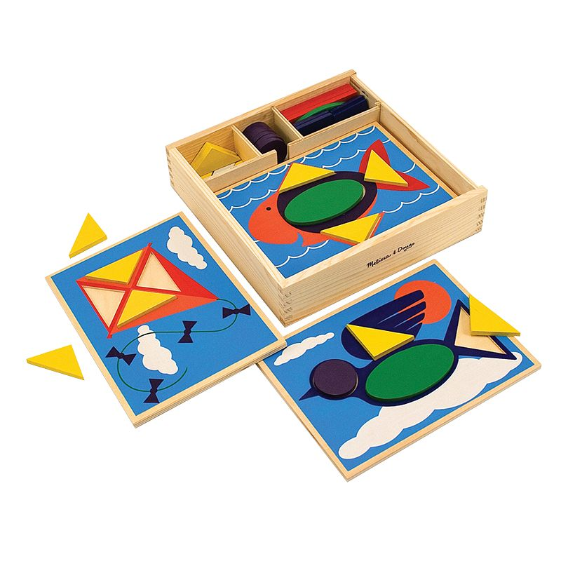 Melissa and Doug Beginner Pattern Block Set