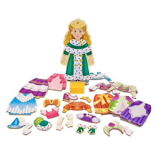 Melissa and Doug Princess Elise Magnetic Dress-Up Set