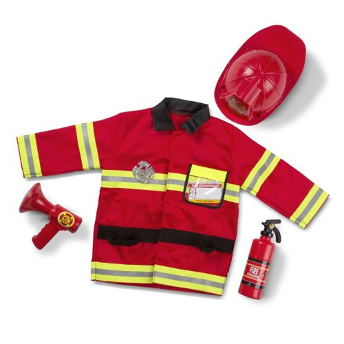 Melissa and Doug Fire Chief Costume - Kids