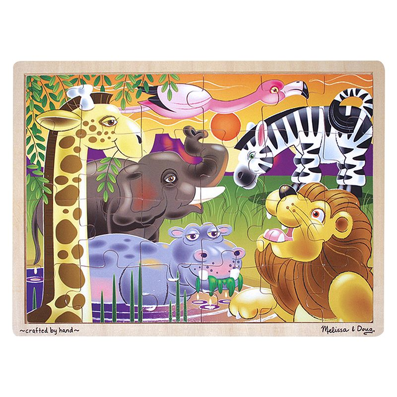 Melissa and Doug African Plains Jigsaw Puzzle