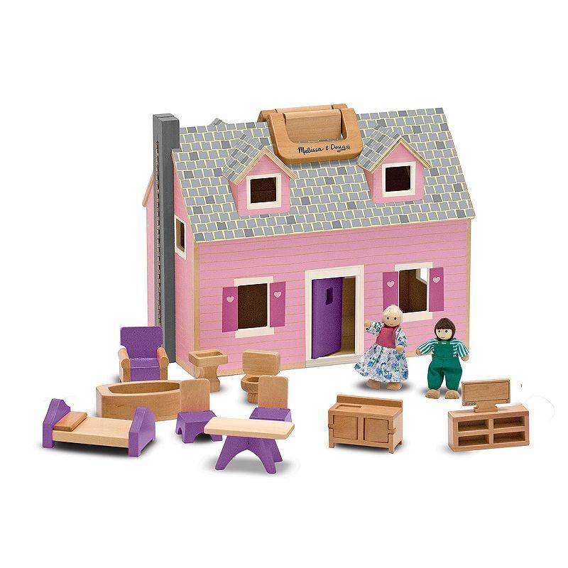 Melissa and Doug Fold and Go Mini Dollhouse