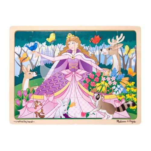 Melissa and Doug Woodland Princess Jigsaw Puzzle