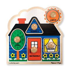 Melissa & Doug First Shapes Jumbo Knob Puzzle by