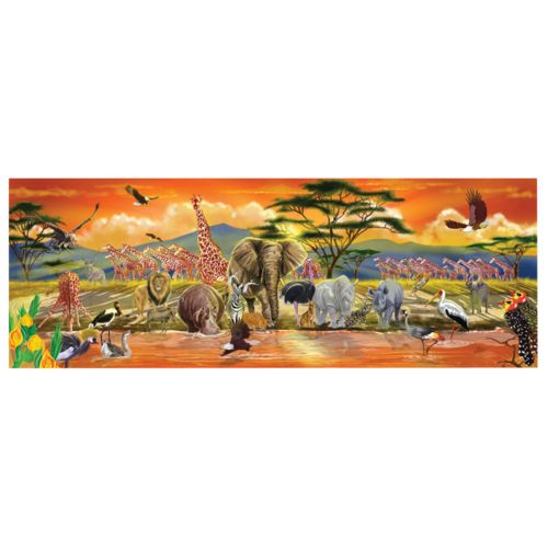 Melissa and Doug 100-pc. Safari Floor Puzzle