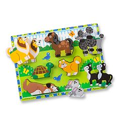 Melissa & Doug Pets Chunky Puzzle by