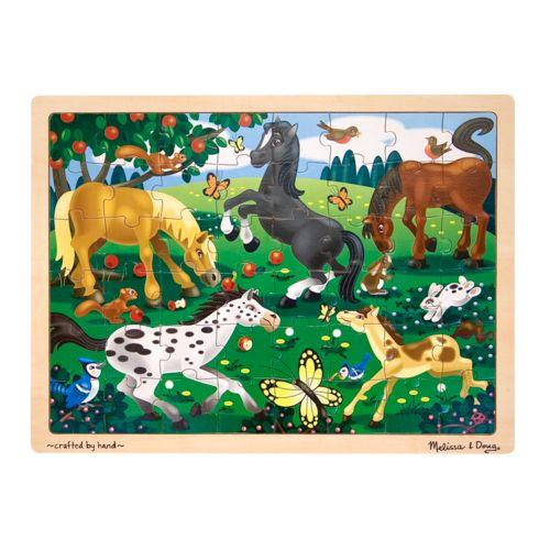Melissa and Doug 48-pc. Frolicking Horses Jigsaw Puzzle