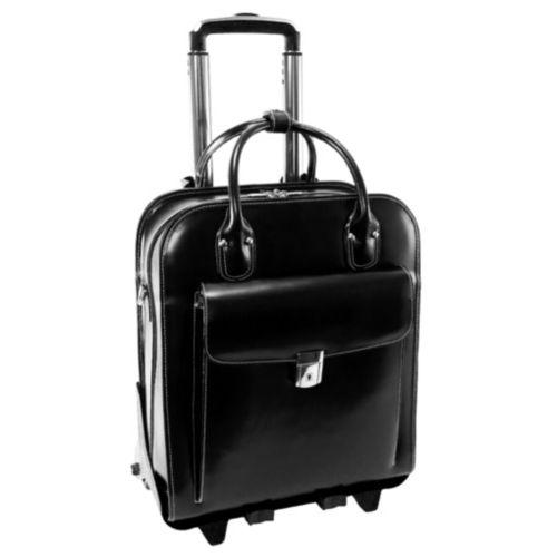 McKlein La Grange 15.4-in. Detachable-Wheel Laptop Briefcase