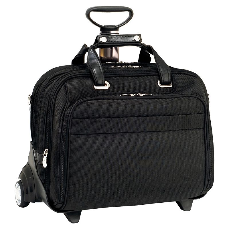 McKlein Midway 17-in. Detachable-Wheel Laptop Case