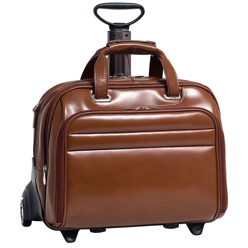 McKlein Midway 17-in. Detachable-Wheel Laptop Case