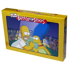 Battle of the Sexes The Simpsons Edition Board Game by University Games by