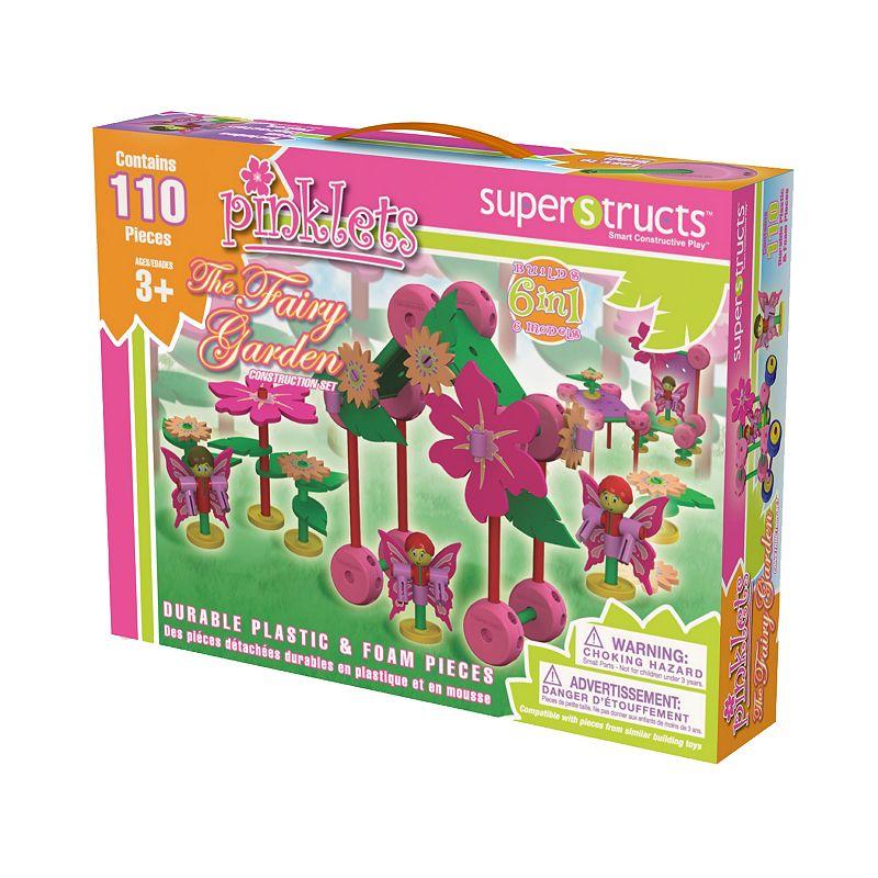 Superstructs Pinklets Fairy Garden Set