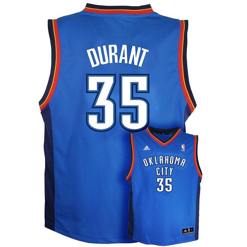 Boys 8-20 adidas Oklahoma City Thunder Kevin Durant NBA Jersey