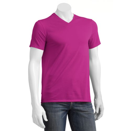 Men's Apt. 9® Solid Deluxe Layering V-Neck Tee