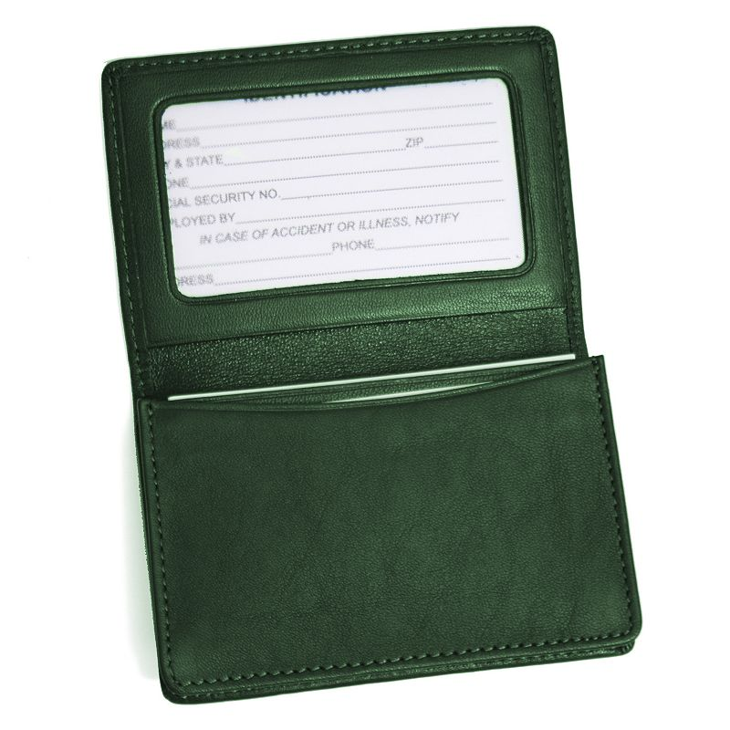Samsonite Leather Business Card Holder