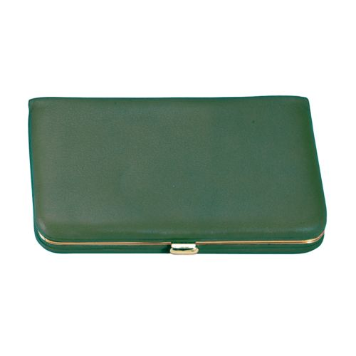 Royce Leather Framed Business Card Case
