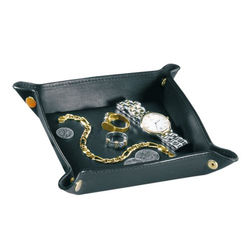 Royce Leather Travel Valet Tray
