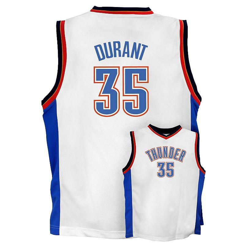 adidas Oklahoma City Thunder Kevin Durant Jersey - Boys 8-20