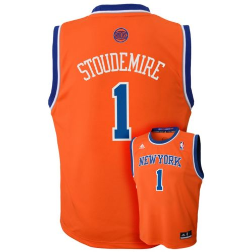 adidas New York Knicks Amare Stoudemire Team Color NBA Jersey -  Boys 8-20