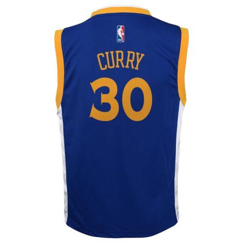 adidas Golden State Warriors Stephen Curry NBA Jersey - Boys 8-20