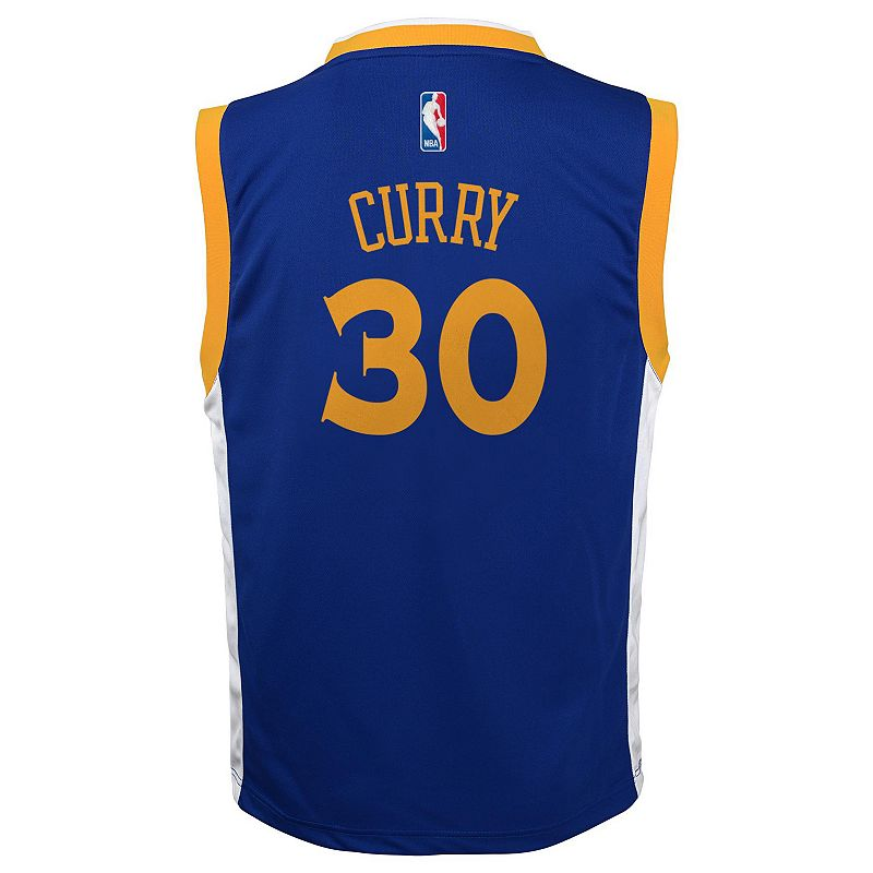 adidas Golden State Warriors Stephen Curry NBA Jersey - Boys 8-20