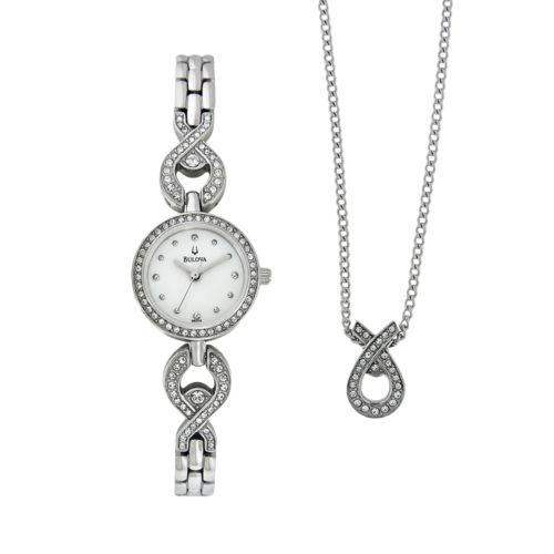 Bulova Watch Set - Women's Stainless Steel - 96X115