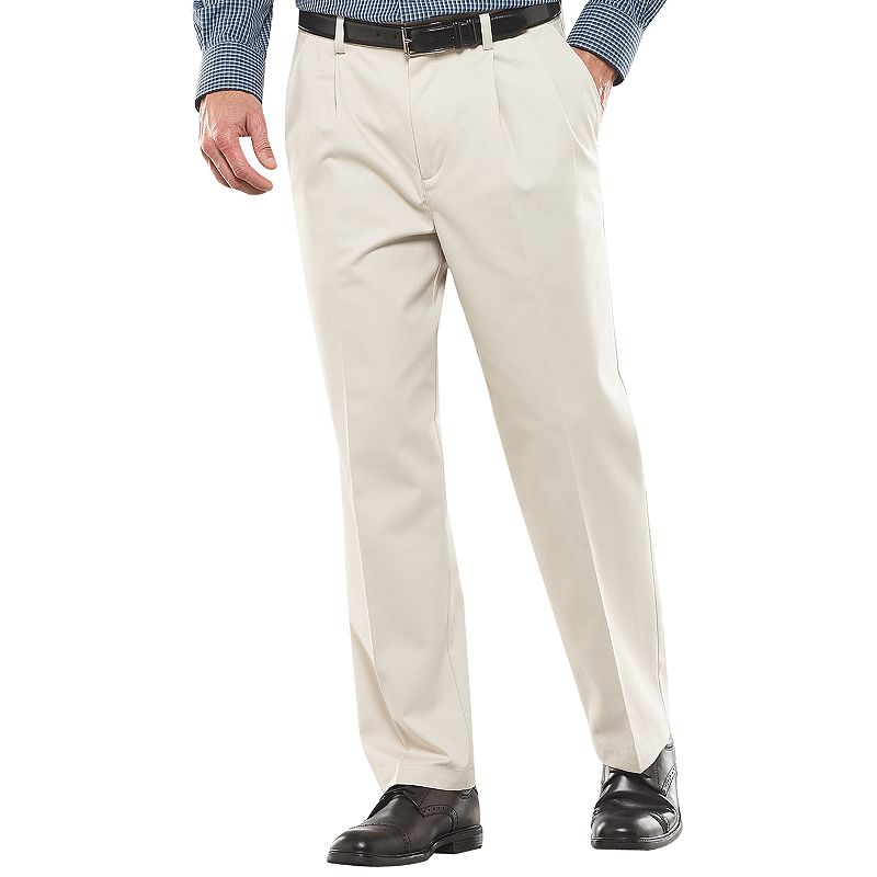 Men's Croft & Barrow® Easy-Care Classic-Fit Pleated Pants