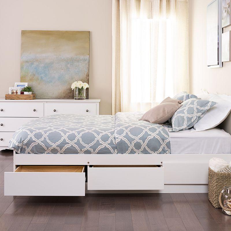 Prepac Full 6-Drawer Platform Storage Bed