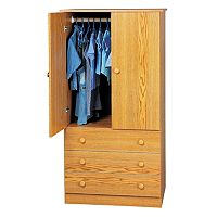 Prepac 3-Drawer Wardrobe