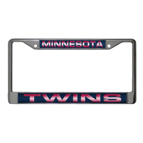 Minnesota Twins Metal License Plate Frame