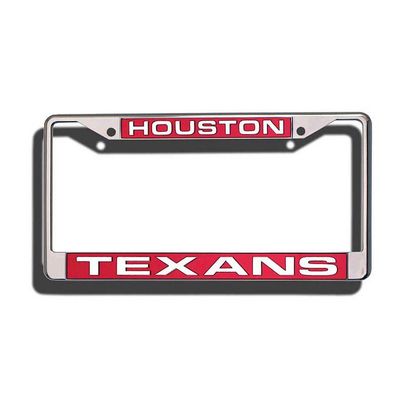 Houston Texans License Plate Frame