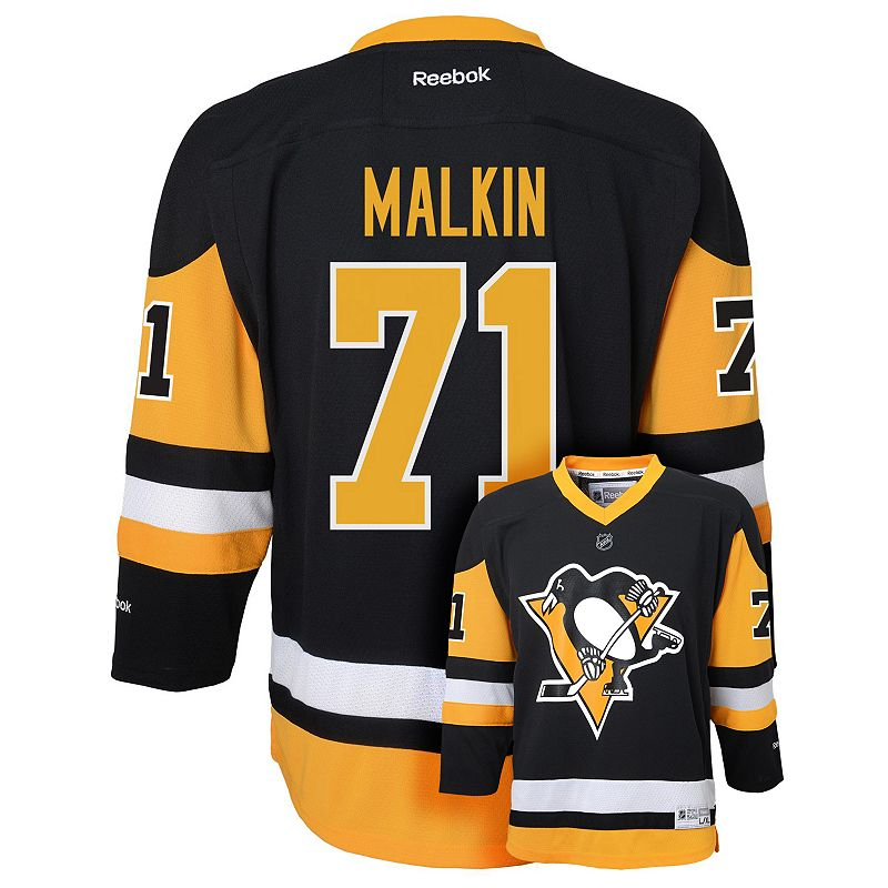Boys 8-20 Reebok Pittsburgh Penguins Evgeni Malkin NHL Jersey