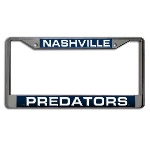 Nashville Predators License Plate Frame