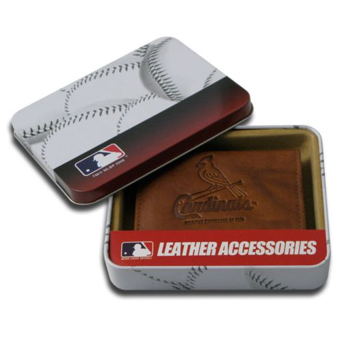 St. Louis Cardinals Leather Bifold Wallet