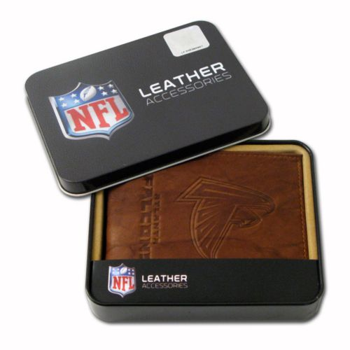 Atlanta Falcons Leather Bifold Wallet
