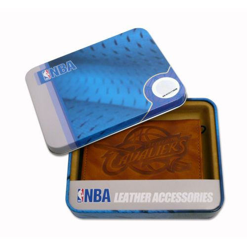 Cleveland Cavaliers Leather Trifold Wallet