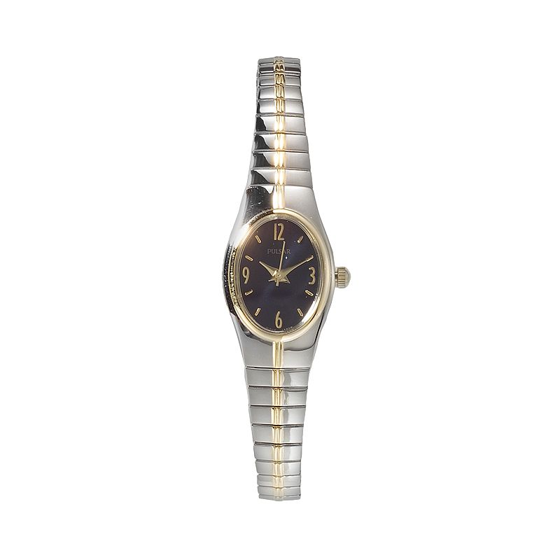 Pulsar Women's Two Tone Stainless Steel Expansion Watch - PC3090