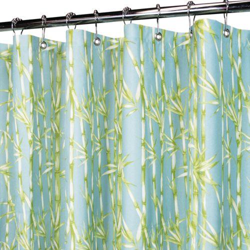 Park B. Smith Bamboo Garden Fabric Shower Curtain