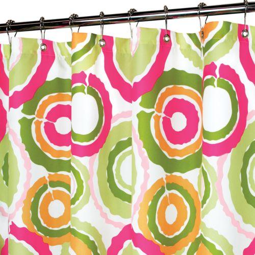 Park B. Smith Groovy Circles Shower Curtain