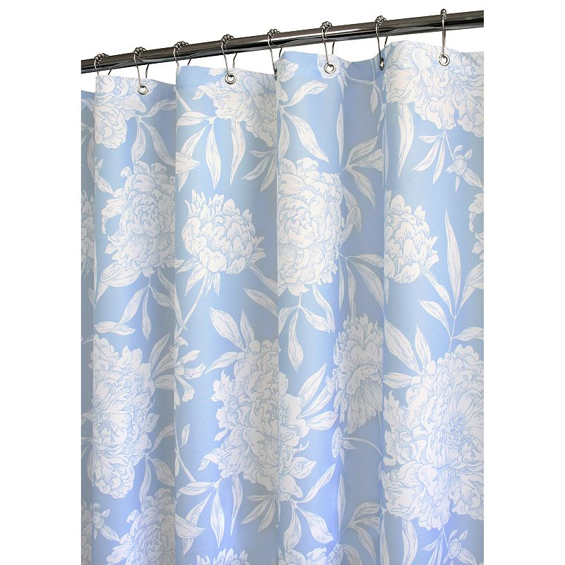 Watershed by Park B. Smith Peony Floral Fabric Shower Curtain - 72'' x 72''