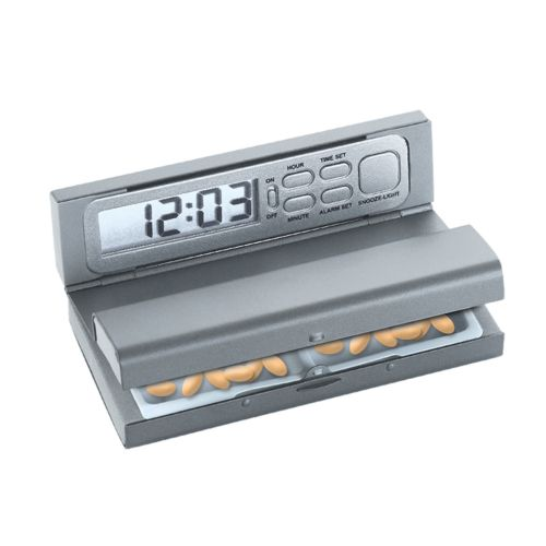 Pill Box Alarm Clock