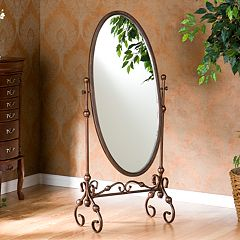 Lourdes Cheval Floor Mirror by