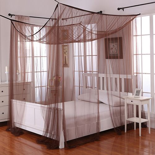casablanca palace four poster bed canopy