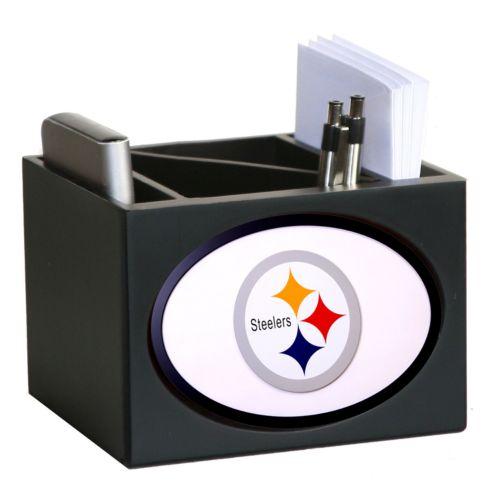 Pittsburgh Steelers Desktop Organizer