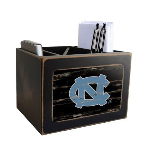 North Carolina Tar Heels Desktop Organizer