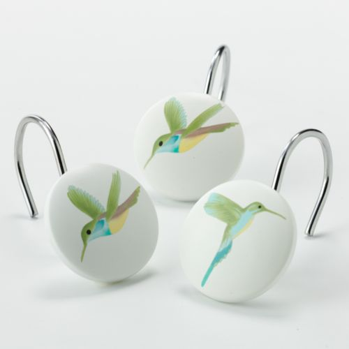 Peri Garden Pond 12-pk. Shower Curtain Hooks