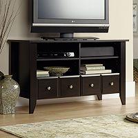 Sauder Shoal Creek Panel TV Stand